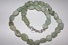 China Jade, Jade, Halskette ca. 10 mm / ca. 45 cm