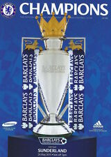* FULL SET OF ALL CHELSEA 2014/15 HOME PREMIER LEAGUE MATCH PROGRAMMES *