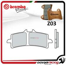 Brembo Racing Z03 plaquette frein avant sint TRIUMPH DAYTONA 675R TRIPLE 2011>