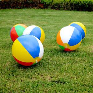 35CM Inflatable Balloons Swimming Pool Beach Sport Ball Kids Fun Toys^lk