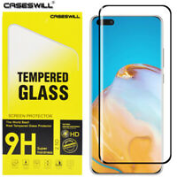 For Huawei P40 Pro Plus 5G Caseswill 3D Curved Tempered Glass Screen Protector