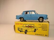 DINKY TOYS RENAULT R8 BLUE 517 FRANCE IN ORIGINAL BOX
