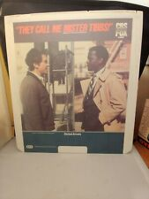 They Call Me Mister Tibbs! ~CED Movie Disc Video Disc