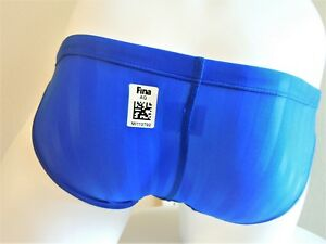 "Cool Design Mizuno Swim Briefs FINA Approved from Japan Size 30"" - 33"" BLK & BLU"