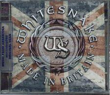 WHITESNAKE MADE IN BRITAIN + THE WORLD RECORD SEALED 2 CD SET NEW 2013 LIVE