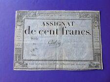 Assignat De 100 Francs
