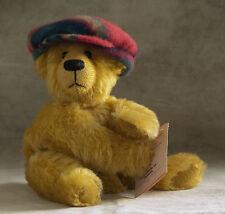 NWT OOAK Artist Teddy Bear ~ Fuzz Butt by Jutta Cyr of Bearaphanalia '98 spunky!