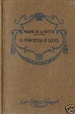 Mad.De La Fayette # LA PRINCIPESSA DI CLÈVES # Sonzogno