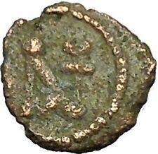 Anastasius I 491AD Ancient Medieval Byzantine Coin Monogram in Circle i34638
