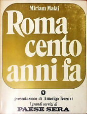 ROMA CENTO ANNI FA - MIRIAM MAFAI - 1973