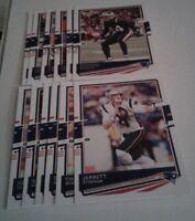 2020 Donruss New England Patriots Team Set, 13 cards 5 RC