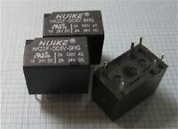 HK23F-DC5V-SHG Signal Relay 2A 5VDC 6 Pins x 10pcs
