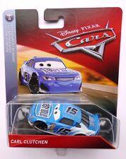Disney Pixar Cars 3 CARL CLUTCHEN también conocido como inactivo Raro más de 100 automóviles EASY listados!!!