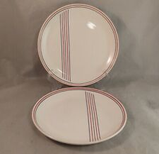 Set of 2 Roy Midwinter Federated Potteries Banjo Salad Plates