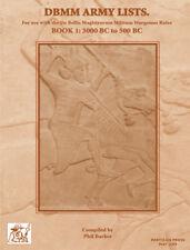 De bellis magistrorum militum (dbmm) armée lists livre 1: 3000 bc 500 bc
