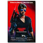 Cobra 1986 Movie Silk Poster Sylvester Stallone 13x20 24x36 inch