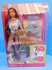 Barbie and Pooping Tanner Pooping Dog Set African American New