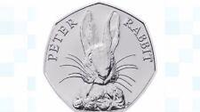 Rare Peter Rabbit 50p fifty pence coin