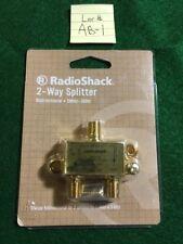 *NEW* RADIO SHACK 2-WAY SPLITTER BI-DIRECTIONAL 5MHZ 3GHZ-1500378