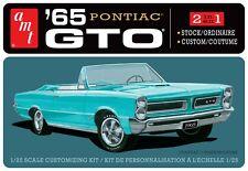 1 ;25 AMT 1191 1965 Pontiac GTO 2 in 1 plastic model kit