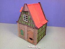 (O3440.3) playmobil maison médiévale verte le tailleur ref 3440 3666