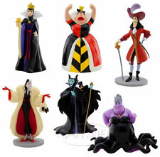 Disney villain witch wizard Villains doll figure 6 body set