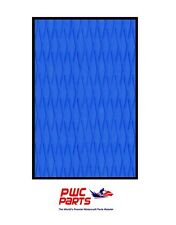 "HYDRO TURF Traction Mat Roll - Cut Diamond - Blue 40"" x 62"" - with 3M Adhesive"