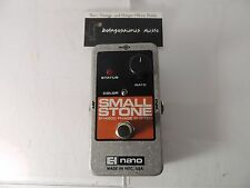 ELECTRO HARMONIX SMALL STONE NANO PHASE SHIFTER PHASER  PEDAL BATTERY ONLY READ