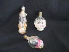 Antique/Vintage Xmas Light Bulbs-Girl/Dog/Tulip-Test ed & Works