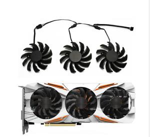 For Gigabyte GTX1050 GTX1060 GTX1070 1080 N960 N970 Graphics Card Fan T128010SU