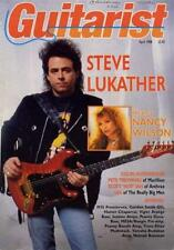 Toto Steve Lukather UK 'Guitarist' Interview Clipping OBLIQUE