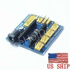 Nano I / O Expansion Sensor Shield Module For Arduino UNO R3 Nano V3.0 new