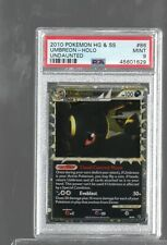 2010 UNDAUNTED 86/90 86 UMBREON PRIME HOLO PSA 9