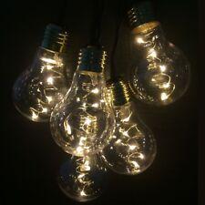 LED Party-Lichterkette 10er Birne 50 Dioden 2,7m warmweiß FHS 29357