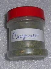 Organic Dried Oregano 1 oz Plastic Spice Bottle Herb Sifter Food 2016 Harvest