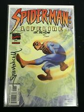 Spider-man Lifeline # 1-  Signed by Fabian Nicieza, Steve Rude - Dynamic Forces