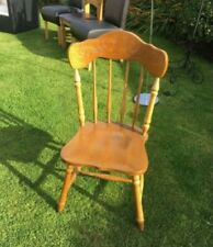 Wood dining chair excellent condition