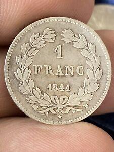 1 Franc Louis Philippe 1841 B Rouen