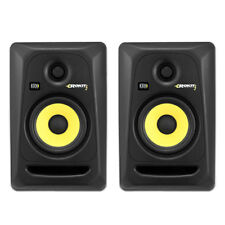 "KRK Rokit 5 G3 50W 5"" 2-Way Powered Studio Monitor Black RP5G3 Pair New"