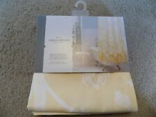 Threshold Yellow Ombre Floral Shower Curtain