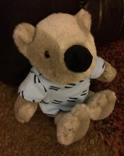 Baystate Hospital Bear Plush With Hospital Gown And Bandage 10""