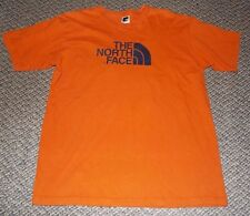 The North Face Men's Brown *HUGE LOGO* Graphic T-Shirt Short Sleeve Size Large L