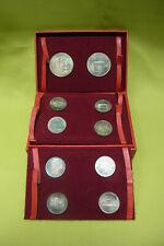 DDR Ehrengeschenk - 10 Silber Medaillen - Historische Gebäude - Münze Berlin