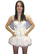 Sexy White Fairy Angel Fancy Dress Costume Outfit Halloween