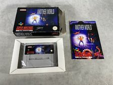 Snes game-another world-very good condition-pal esp