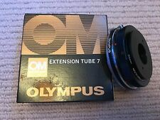 Olympus OM Macro +RMS +Tmount adapter 'PM-Mtob +7mm Extension Tubes [boxed mint]
