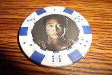 Glenn The Walking Dead Photo Poker Chip,Golf Ball Marker,Card Guard White