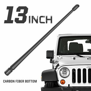 "Rydonair 13"" Radio Antenna Mast Compatible with Jeep Wrangler JK JL 2007-2021"