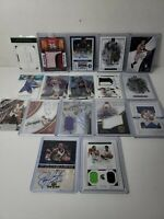 Lot of 17 cards 2016, 17, 18 National Treasures, Immaculate, Towns, Lavine, #'d!
