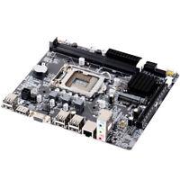 NEW for Intel H61 Socket LGA 1155 DDR3 MicroATX Computer Motherboard Mainboard